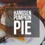Hangsen Pumpkin Pie (FlavorBook Entry Recipe)