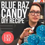 Simple Blue Raspberry Candy Recipe (DIY E-liquid Recipes)
