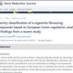 Looking at Farsalinos Toxicity Analysis