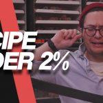 Making 2% DIY Recipe  | Live Mixing