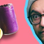 Blueberry Lemon Milkshake | Live Mixing