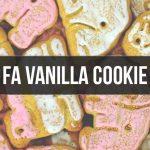 FA Vanilla Cookie